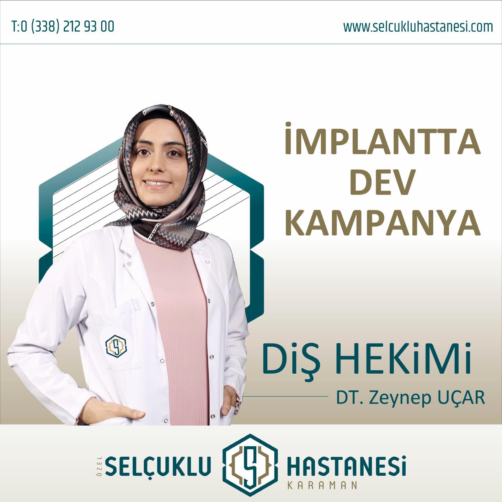 karaman implant tedavi