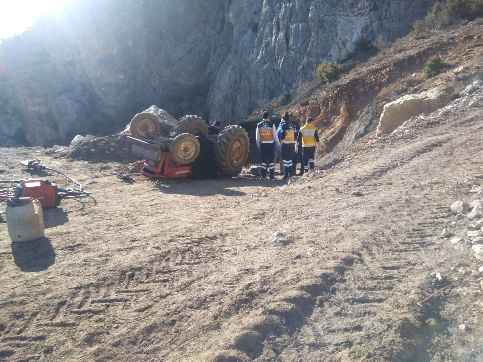boyalı köyü traktör kazası