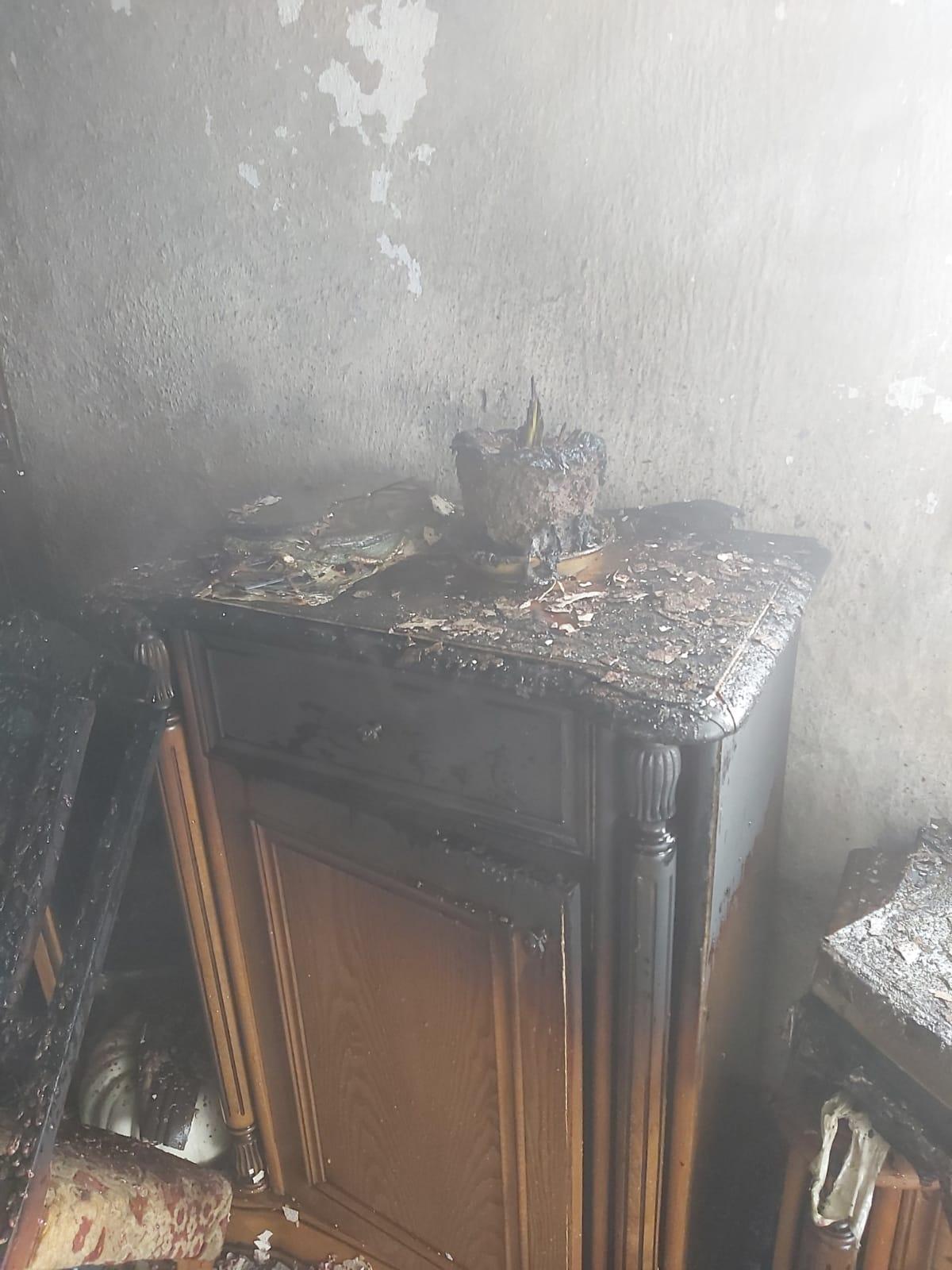 karamanda yangın