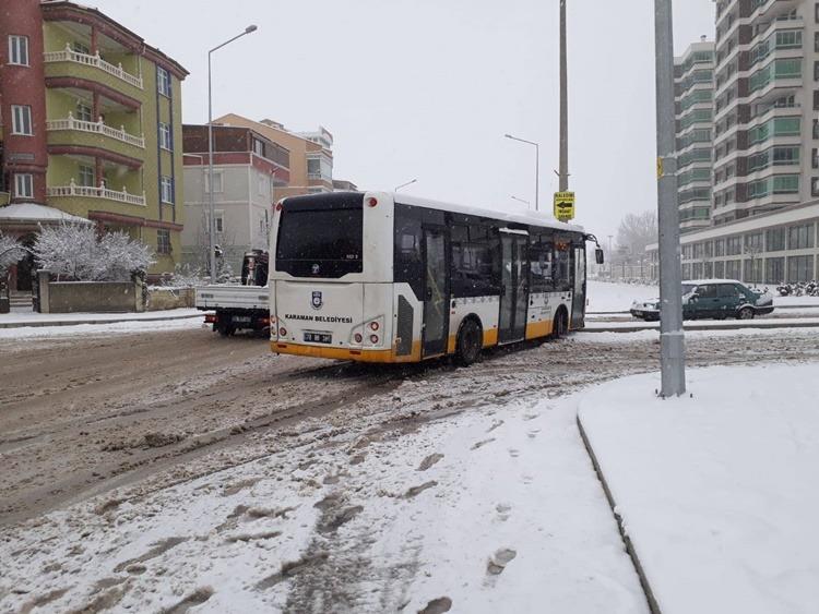 belediye otobüsü kaza