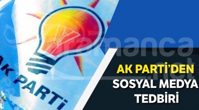 Ak Parti'den 'Sosyal medya etik kuralları' çalışması