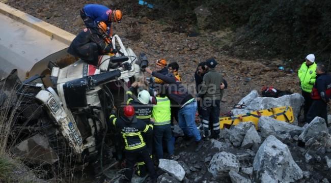 Feci kazada kaptan hayatını kaybetti