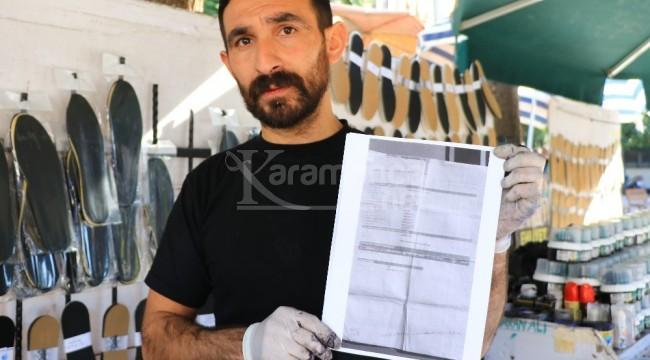 Gaziantep'te motosiklete yazılan ceza Adana'da otomobile geldi
