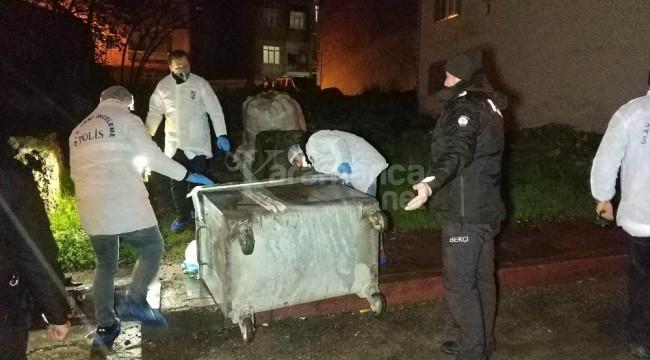 İlkadım'daki çöp konteynerinde ceset bulunması