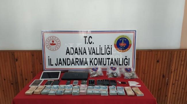 İmamoğlu'da uyuşturucu operasyonu 16 gözaltı