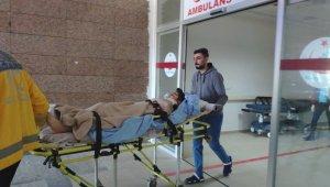İslahiye'de işçileri taşıyan traktör devrildi 6 yaralı