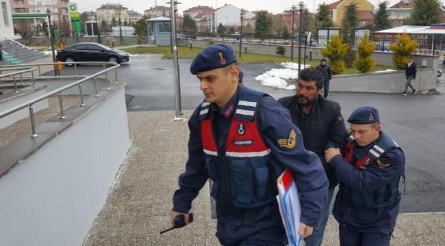 Karaman'da 79 koyunu çaldığı ileri sürülen zanlı tutuklandı