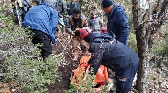 Karaman'da uçurumdan düşen şahıs öldü