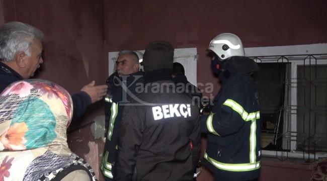 Kırıkkale Bahşılı'daki yangını bekçiler fark etti
