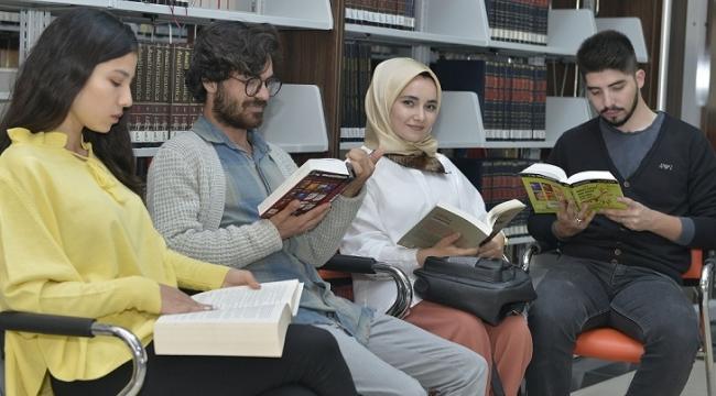 KMÜ kütüphanesinden 2019 yılında 25 bin 887 kitap ödünç alındı
