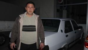 Konya'da aracın kaputunu kırıp 40 saniyede akü çaldılar