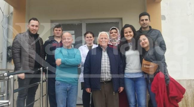 Kula'da 112 kalbi duran yaşlı adamı hayata döndürdü
