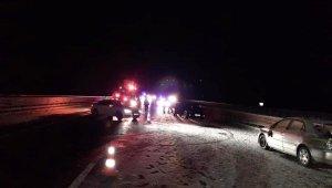 Niğde-Adana yolundaki zincirleme kazalarda 2 ölü, 8 yaralı