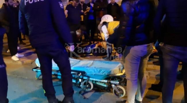 Ordu Ünye'deki kazada engelli vatandaş yaralandı