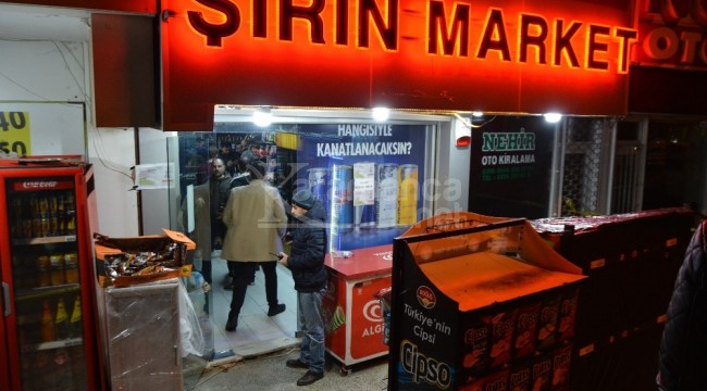 Osmangazi'deki markette silahlı gasp