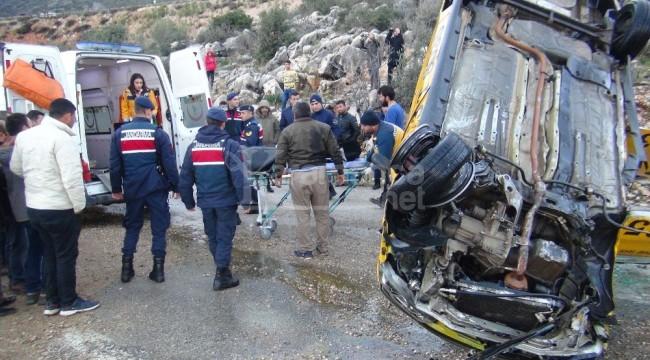 Silifke'de otomobil denize düştü 1 ölü