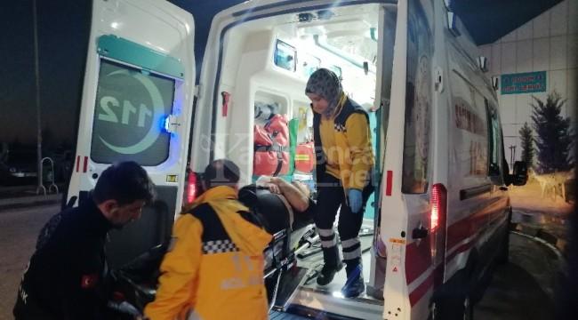 Aksaray-Nevşehir yolunda otomobil takla attı