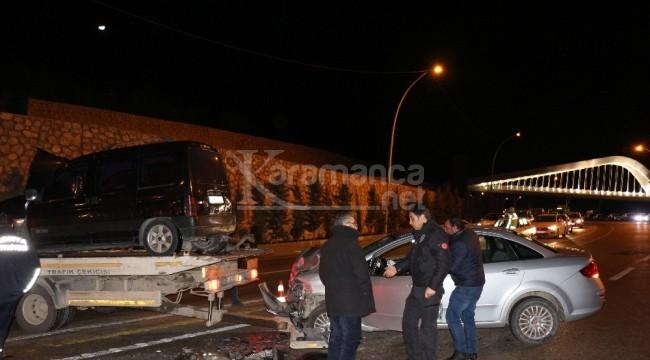 Akyokuş'taki kazada 4 yaralı
