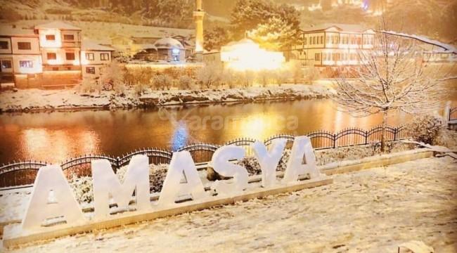 Amasya'da kar tatili