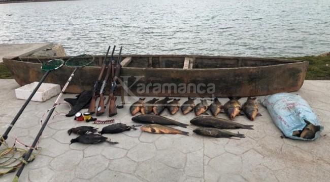 Beyşehir'de elektroşokla balık avına tam 420 bin lira ceza