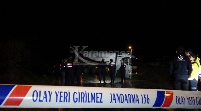 Çekici ile tankerin çarpıştığı kazada kaptan öldü