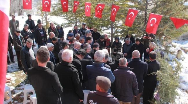 Fikret Ünlü Ermenek'te mezarı başında anıldı