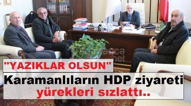 HDP'yi ziyaret eden Karamanlılar yürekleri sızlattı