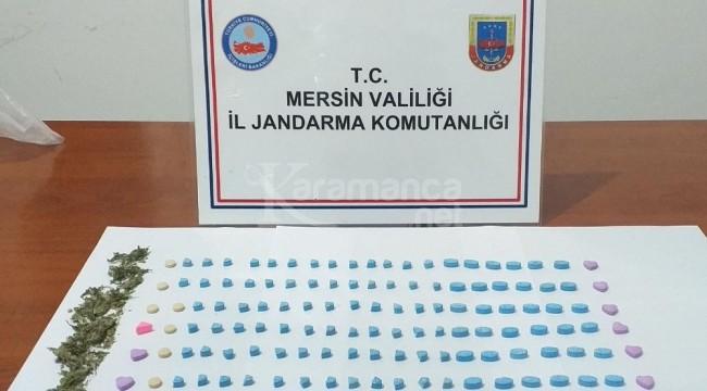 Jandarma'dan Silifke, Erdemli ve Mezitli'de operasyon