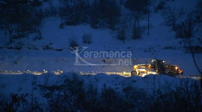 Karabük ve ilçelerinde 135 köy yolu ulaşıma açıldı