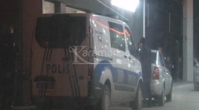 Kayseri'deki petrol istasyonunda silahlı soygun