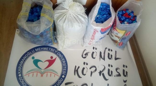 KMÜ öğrencilerinden TOFD'ye destek