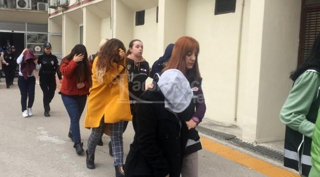 Mersin'deki O firmalara operasyon 16'sı kadın 19 gözaltı