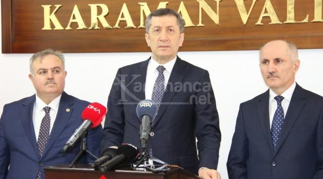 Milli Eğitim Bakanı Selçuk Karaman'da