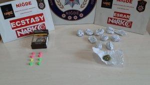 Sazlıca mevkisinde uyuşturucu satıcısı 2 kişi gözaltına alındı