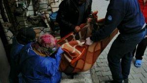 83 yaşındaki kadın tüp gazdan zehirlendi