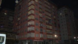 Rize'de 10 katlı apartmandaki vatandaşlar tahliye edildi