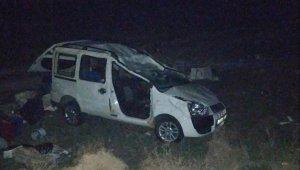 Takla atan araçta 73 yaşındaki Hacer Erduran öldü