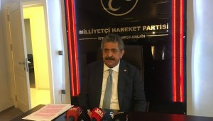 MHP Genel Başkan Yardımcısı hastaneye yatırıldı