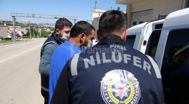 Bursa Nilüfer'deki otomobil hırsızları cezaevinde