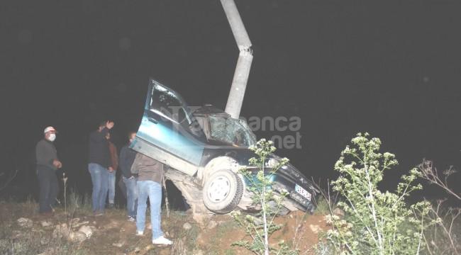 Direğe çarpan otomobildeki İdris Katıran öldü