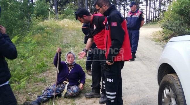 Epilepsi hastası Aysel Çakır ormanda bulundu