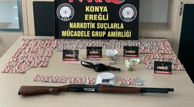 Ereğli'de torbacı operasyonu 6 gözaltı
