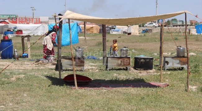 Kaşınhanı'da mevsimlik işçilerin ekmek mücadelesi