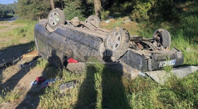 Sürücü Ali İhsan Işık bu kazadan yara almadan kurtuldu