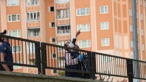 7. kattan düşen 60 yaşındaki Sadi Balkaya öldü