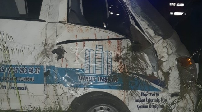 Kontrolden çıkarak devrilen araçtaki Metin Dolbun öldü