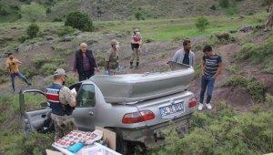 Şarampole uçan otomobildeki Necmettin Korkmaz öldü