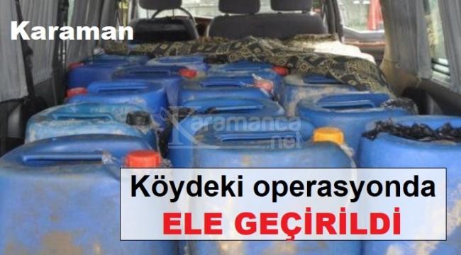 Karaman'daki köylere satıyordu, yakalandı