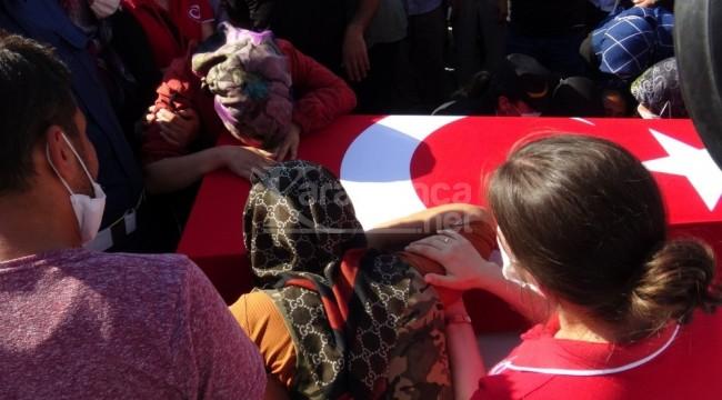 Karamanlı şehit Mustafa Ahmet Demir gözyaşlarıyla defnedildi