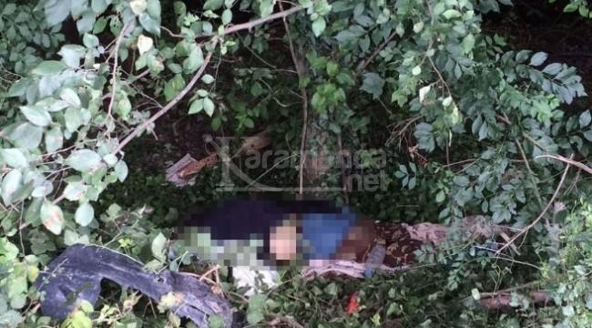 Sevgilisiyle bir olup öldürdüğü kocasını yol kenarına attı